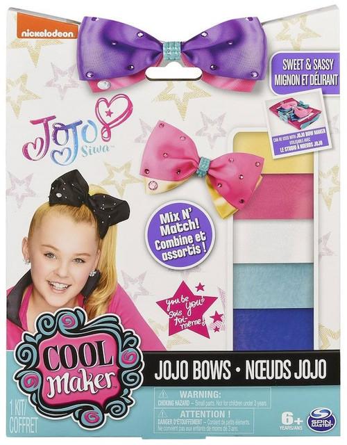 Nickelodeon JoJo Siwa Cool Maker JoJo Bows Refill Pack [Sweet & Sassy]
