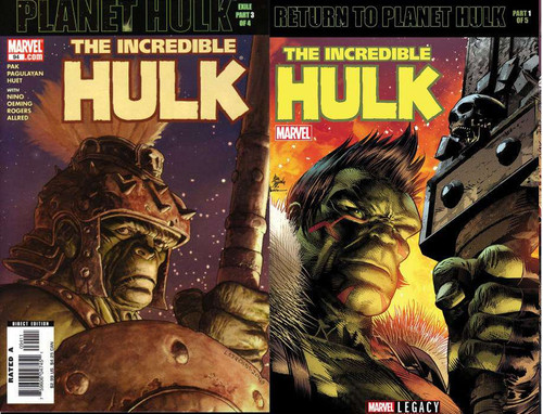Marvel Comics The Incredible Hulk #709 Comic Book [Lenticular Cover]