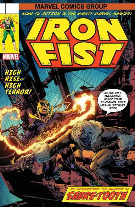 Marvel Comics Iron Fist #73 Comic Book [Lenticular Cover]