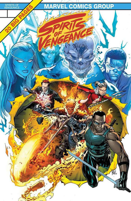 Marvel Comics Spirits of Vengeance #1 Comic Book [Lenticular Cover]