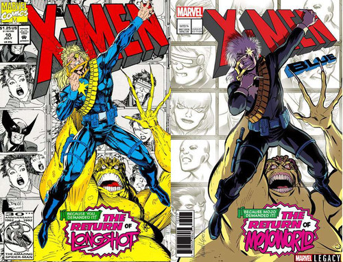 Marvel Comics X-Men: Blue #13 Comic Book [Lenticular Cover]