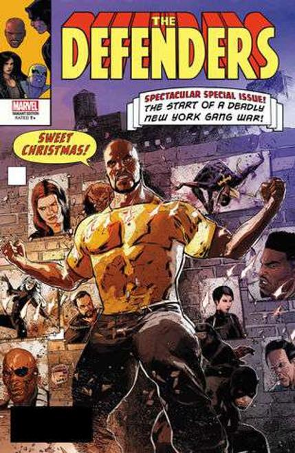 Marvel Comics Defenders #6 Comic Book [Lenticular Cover]