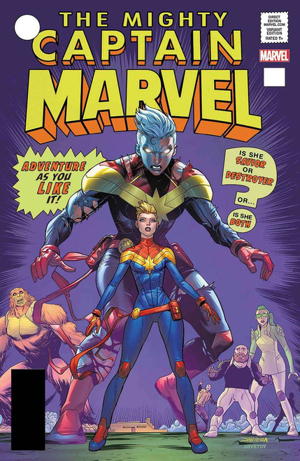 Captain Marvel #125 Comic Book [Lenticular Cover]