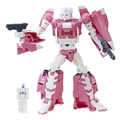 Transformers Titans Return Arcee Exclusive Action Figure 3-Pack [Deluxe Arcee, Masters Leinad & Ultra Magnus]