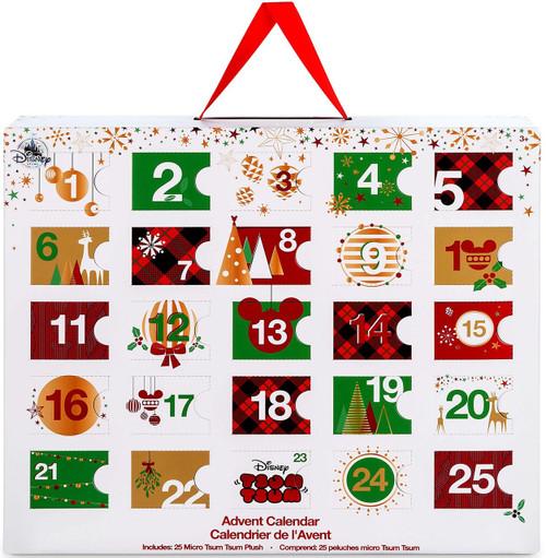 Disney Tsum Tsum 2017 Advent Calendar Set [Micro Plush]