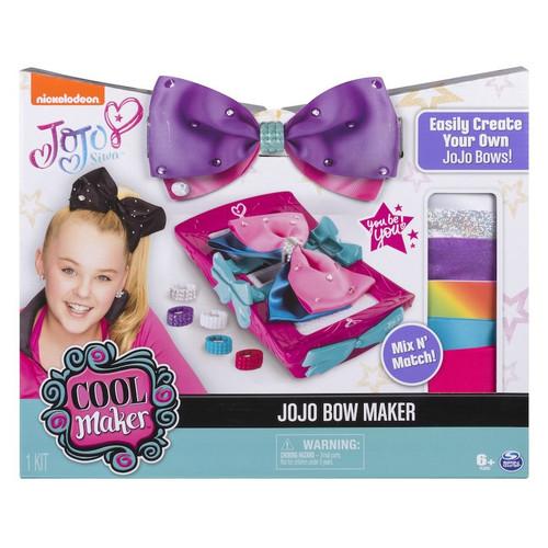 Nickelodeon JoJo Siwa Cool Maker JoJo Bow Maker Starter Set [Create Your Own JoJo Bows!]