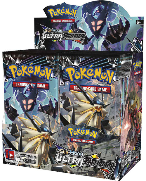 Pokemon Trading Card Game Sun & Moon Ultra Prism Booster Box [36 Packs]