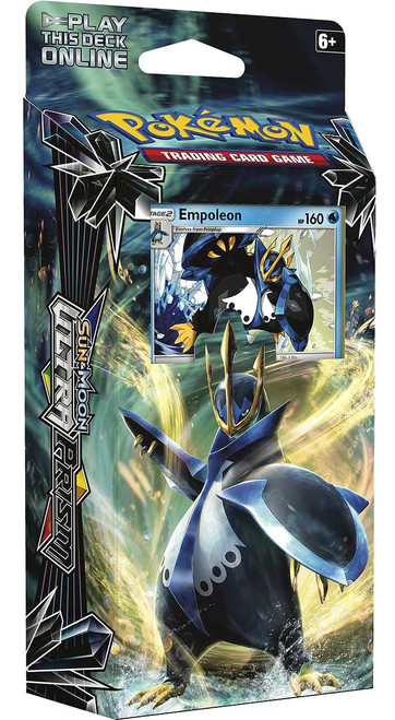 Pokemon Trading Card Game Sun & Moon Ultra Prism Imperial Command Theme Deck [Empoleon]