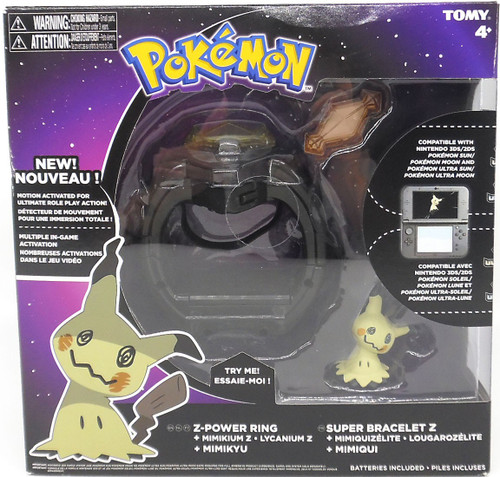 Pokemon Z-Power Ring Toy [with Mimikyu]