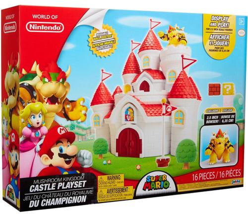 World of Nintendo Super Mario Mushroom Kingdom Castle Playset [Regular Version]