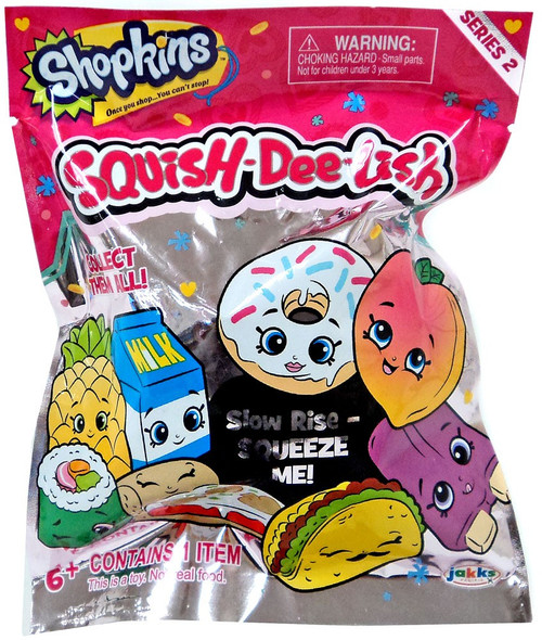 Squish-Dee-Lish Shopkins Series 2 Mystery Pack