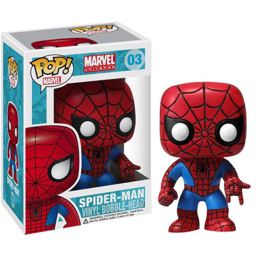 Funko Marvel Universe POP! Marvel Spider-Man Vinyl Bobble Head #03 [Damaged Package]