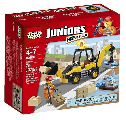 LEGO Juniors Digger Set #10666 [Damaged Package]