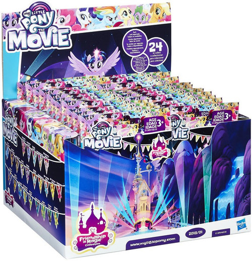 My Little Pony The Movie 2018 Wave 1 (Series 23) Mystery Box [24 Packs]