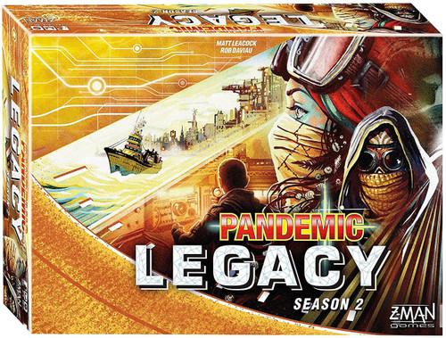 Pandemic Legacy: Season 2 Board Game [Yellow Edition]