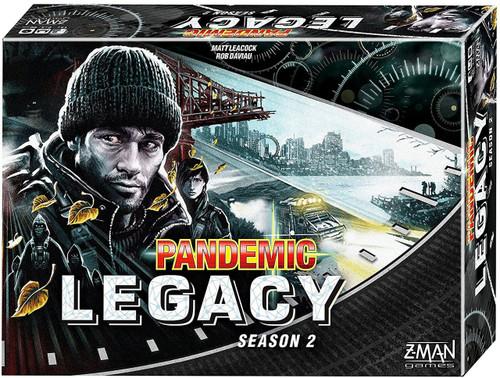 Pandemic Legacy: Season 2 Board Game [Black Edition]