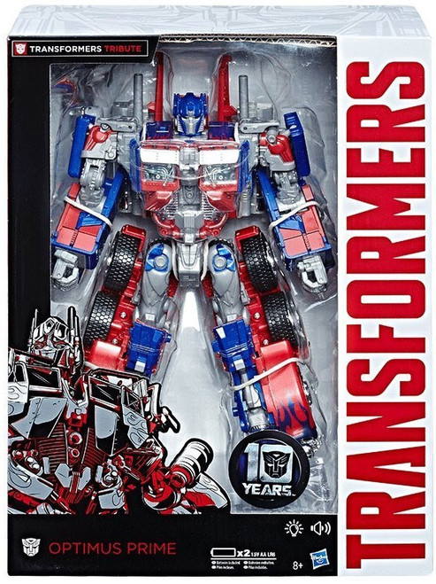 Transformers Tribute 10th Anniversary Optimus Prime Exclusive Leader Action Figure