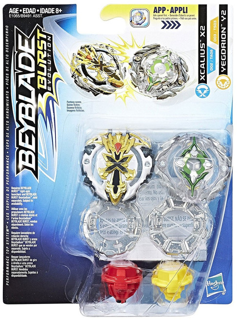 Beyblade Burst Xcalius & Yegdrion Dual Pack