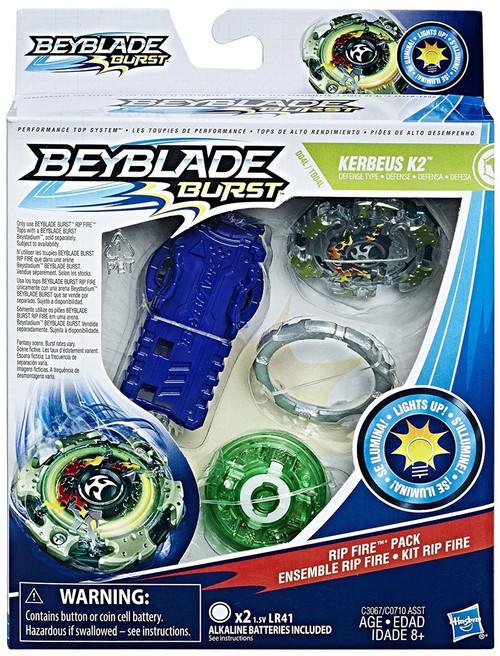 Beyblade Burst Kerbeus K2 Rip Fire Starter Pack