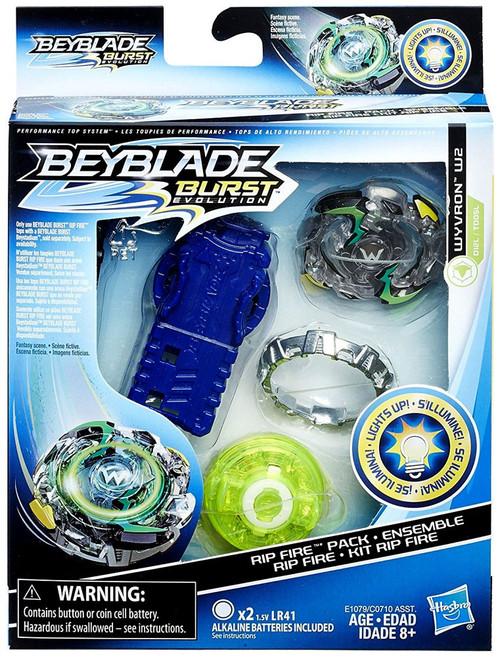 Beyblade Burst Wyvron W2 Rip Fire Starter Pack