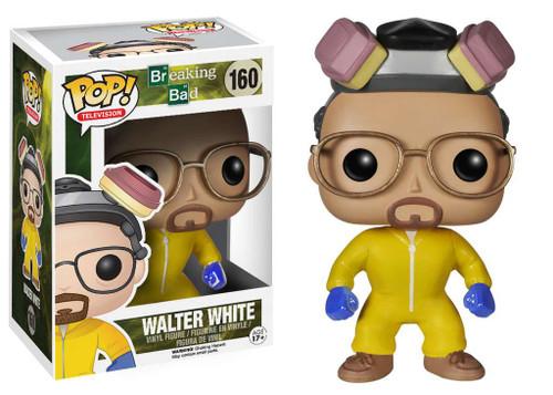 Funko Breaking Bad POP! TV Walter White Vinyl Figure #160 [Yellow Hazmat Suit, Damaged Package]