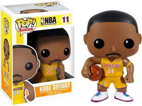 Funko NBA POP! Sports Basketball Kobe Bryant Vinyl Figure #11 [Damaged Package]