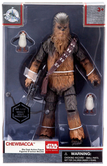 Disney Star Wars The Last Jedi Elite Series Chewbacca Exclusive 8-Inch Diecast Figure [with Porgs]