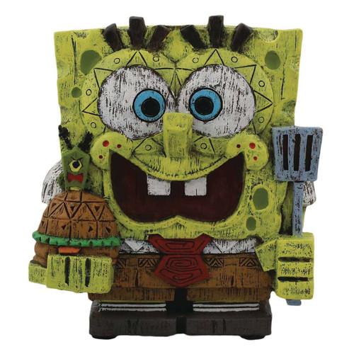 EEKEEZ SpongeBob Series 1 SpongeBob SquarePants 4-Inch Collectible Statue