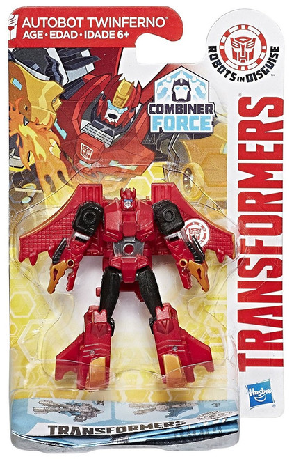 Transformers Robots in Disguise Combiner Force Twinferno Legion Action Figure