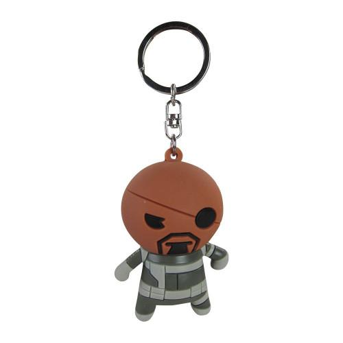 Marvel 3D Figural Keychain Nick Fury Keychain [Loose]