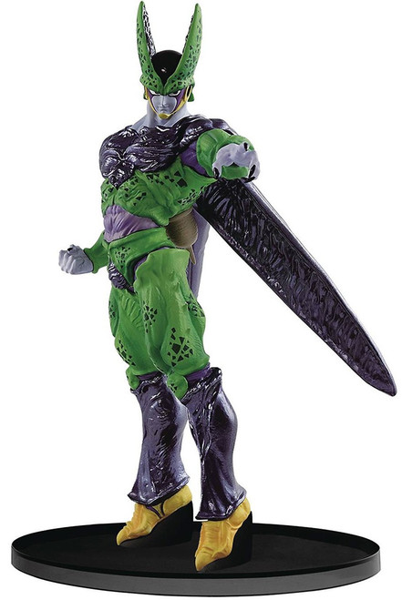 Dragon Ball Z World Figure Colosseum Perfect Cell 7.1-Inch Collectible PVC Figure (Pre-Order ships January)