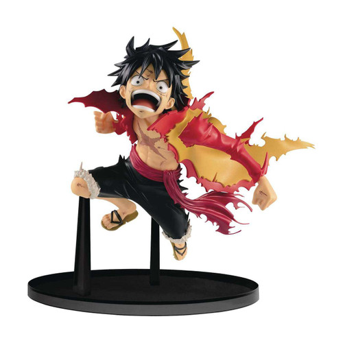 One Piece World Figure Colosseum Monkey D. Luffy 4.7-Inch Collectible PVC Figure