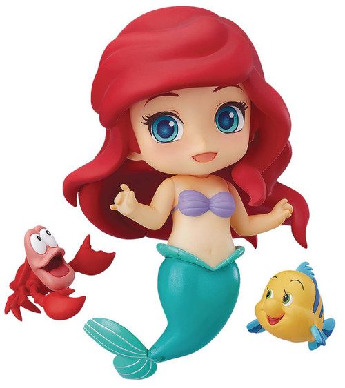 Disney The Little Mermaid Nendoroid Ariel Action Figure