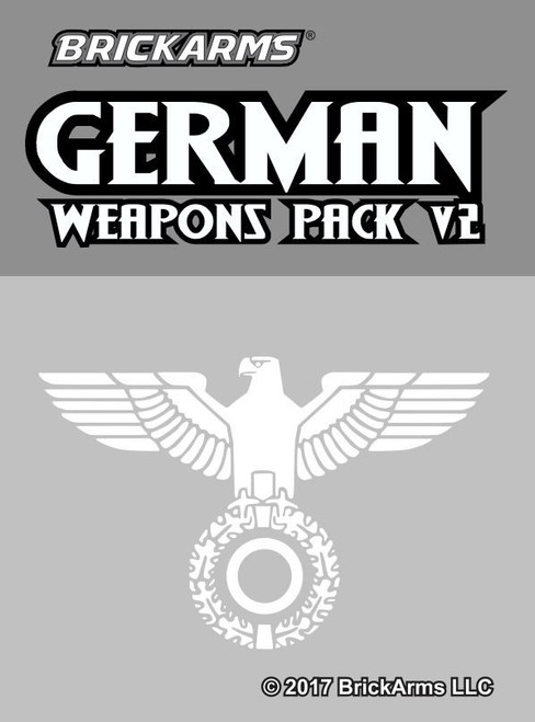 BrickArms German V.2 Weapons Pack
