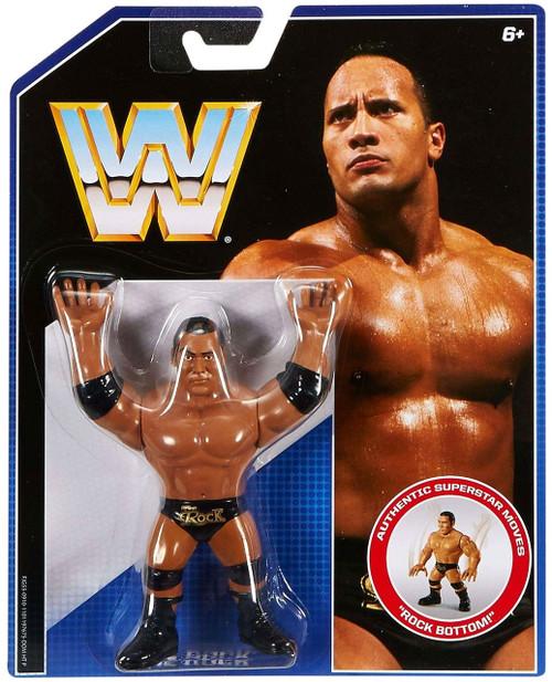 WWE Wrestling Retro The Rock Action Figure
