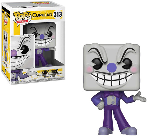 Funko Cuphead POP! Games King Dice Vinyl Figure #313 [Purple Suit, Regular Version]