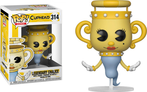 Funko Cuphead POP! Games Legendary Chalice Vinyl Figure #314