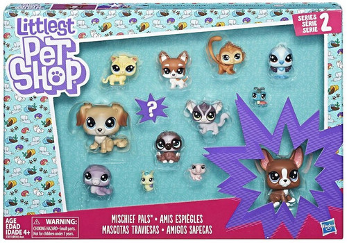 Littlest Pet Shop Series 2 Mischief Pals Mini Figure 13-Pack