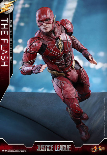 DC Justice League Movie The Flash Training Kit