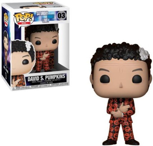 Funko Saturday Night Live POP! TV David S. Pumpkins Vinyl Figure #03