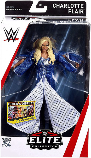 WWE Wrestling Elite Collection Series 54 Charlotte Flair Action Figure [Entrance Robe]