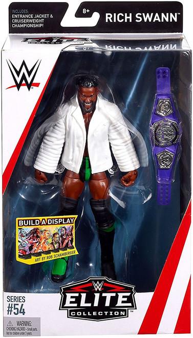 WWE Wrestling Elite Collection Series 54 Rich Swann Action Figure [Entrance Jacket & Cruiserweight Championship Belt]