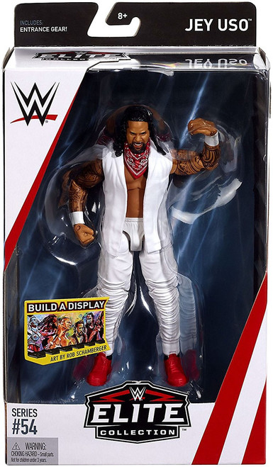 WWE Wrestling Elite Collection Series 54 Jey Uso Action Figure [Entrance Gear]