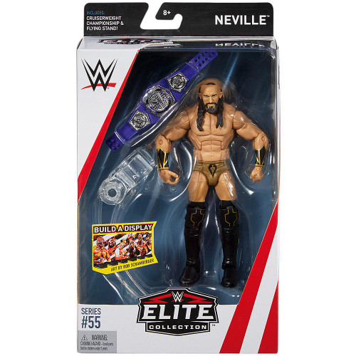 WWE Wrestling Elite Collection Series 55 Neville Action Figure [Cruiserweight Championship Belt & Flying Stand]