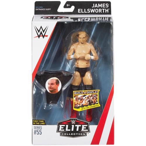 WWE Wrestling Elite Collection Series 55 James Ellsworth Action Figure [Entrance Shirt]
