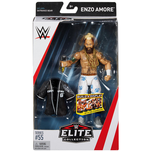 WWE Wrestling Elite Collection Series 55 Enzo Amore Action Figure [Entrance Gear]