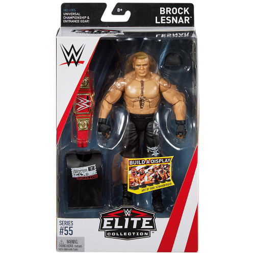 WWE Wrestling Elite Collection Series 55 Brock Lesnar Action Figure [Universal Championship Belt & Entrance Gear]