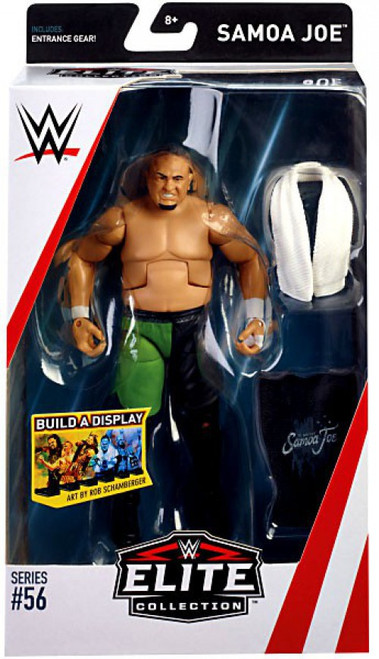WWE Wrestling Elite Collection Series 56 Samoa Joe Action Figure