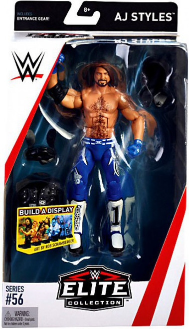 WWE Wrestling Elite Collection Series 56 AJ Styles Action Figure