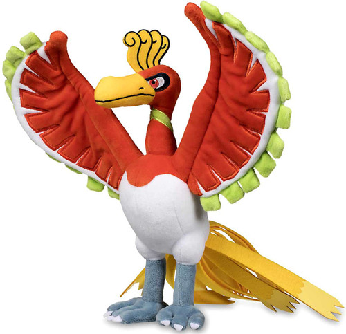 Pokemon Ho-Oh Exclusive 13.75-Inch Plush [Large Size]